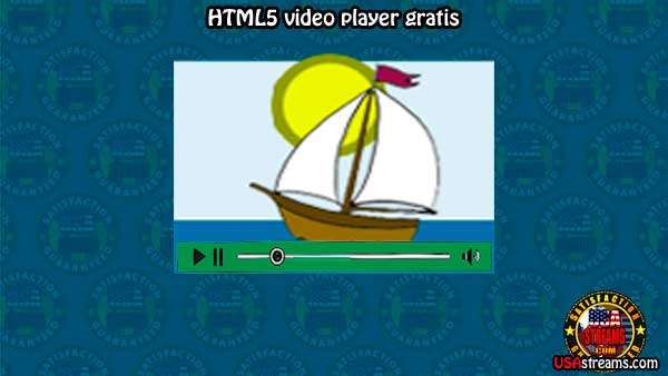 html5 video player gratis