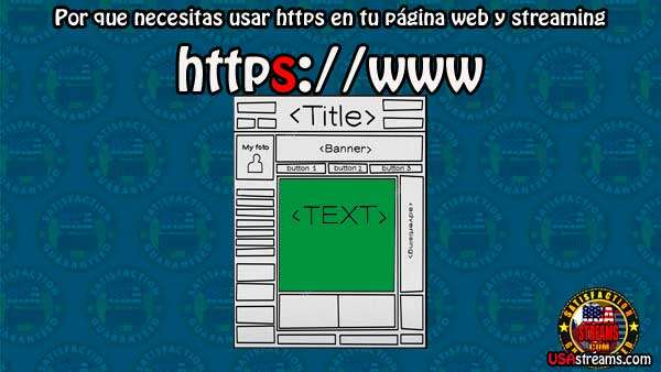 Por que necesitas usar https en tu página web y streaming