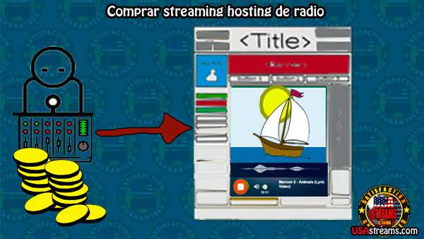 Comprar streaming radio