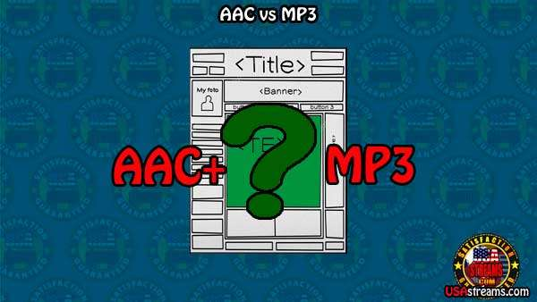 mp3 vs aac vs OGG en streaming radio online