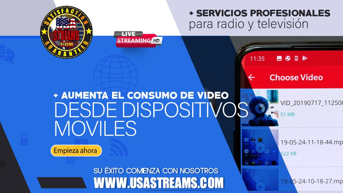 Aumenta el consumo de video desde dispositivos moviles