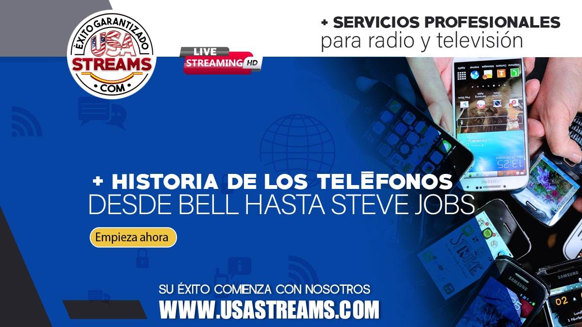 La historia de los teléfonos, desde Bell hasta Steve Jobs