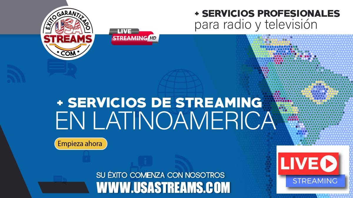Servicios de Streaming Argentina Bolivia Brasil Chile Colombia Ecuador