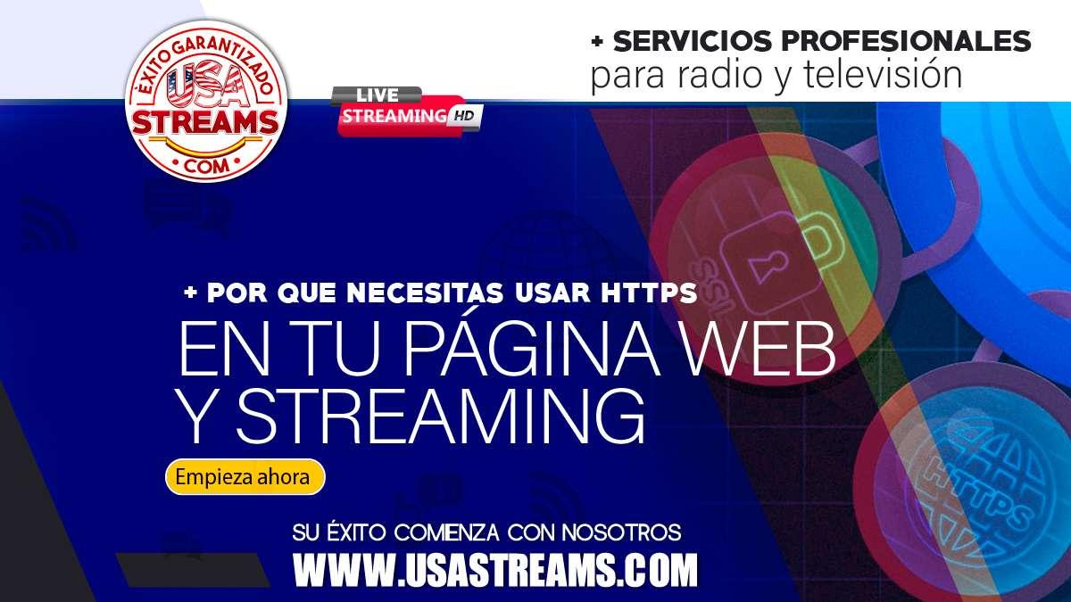 Por que necesitas usar https en tu página web y streaming