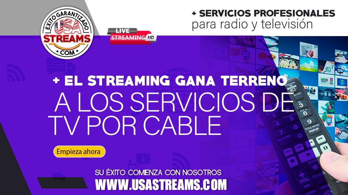 Los servicios de streaming le siguen comiendo terreno a la tv por cable