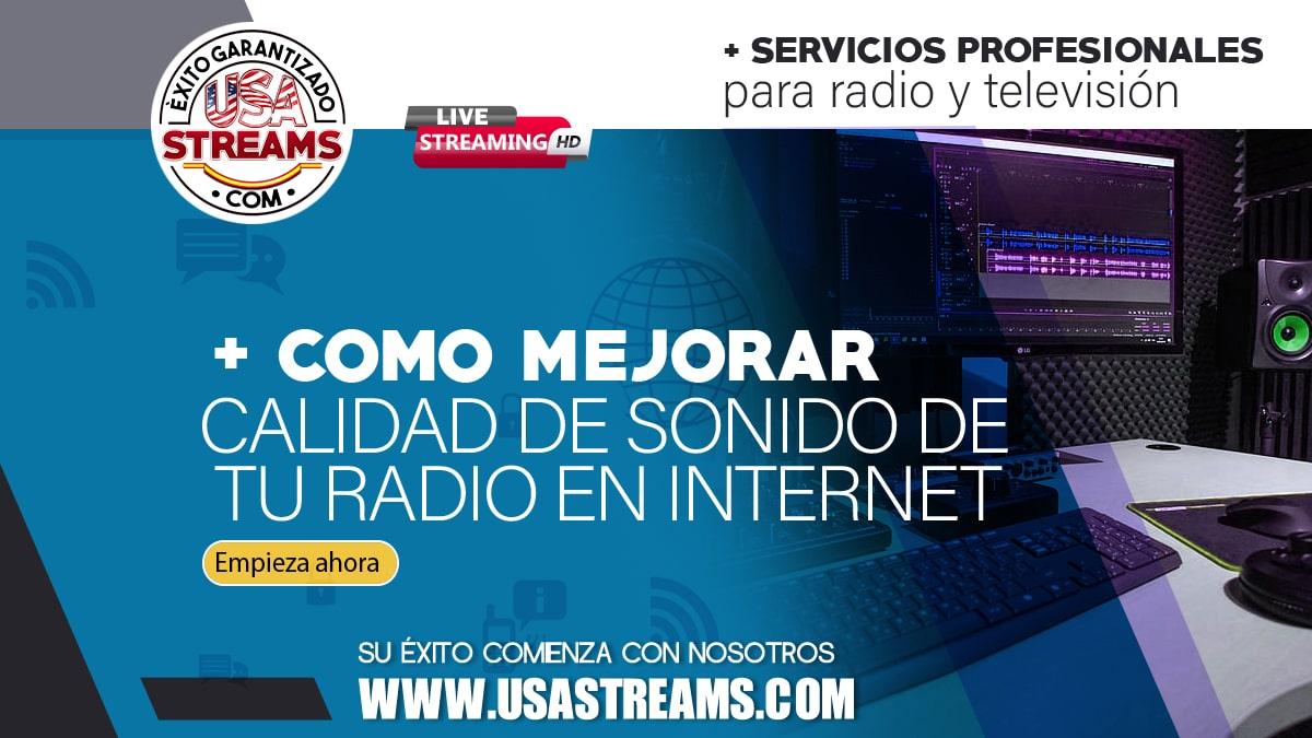 como mejorar la calidad de sonido de tu radio en internet