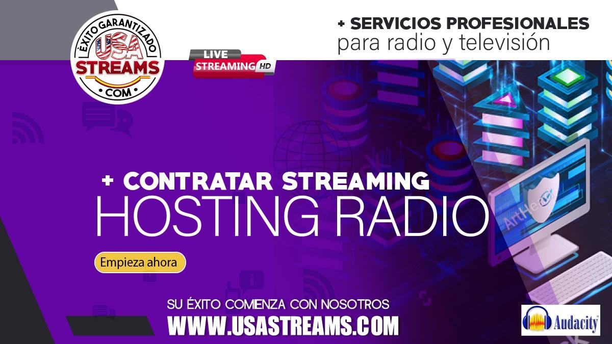 contratar streaming hosting radio