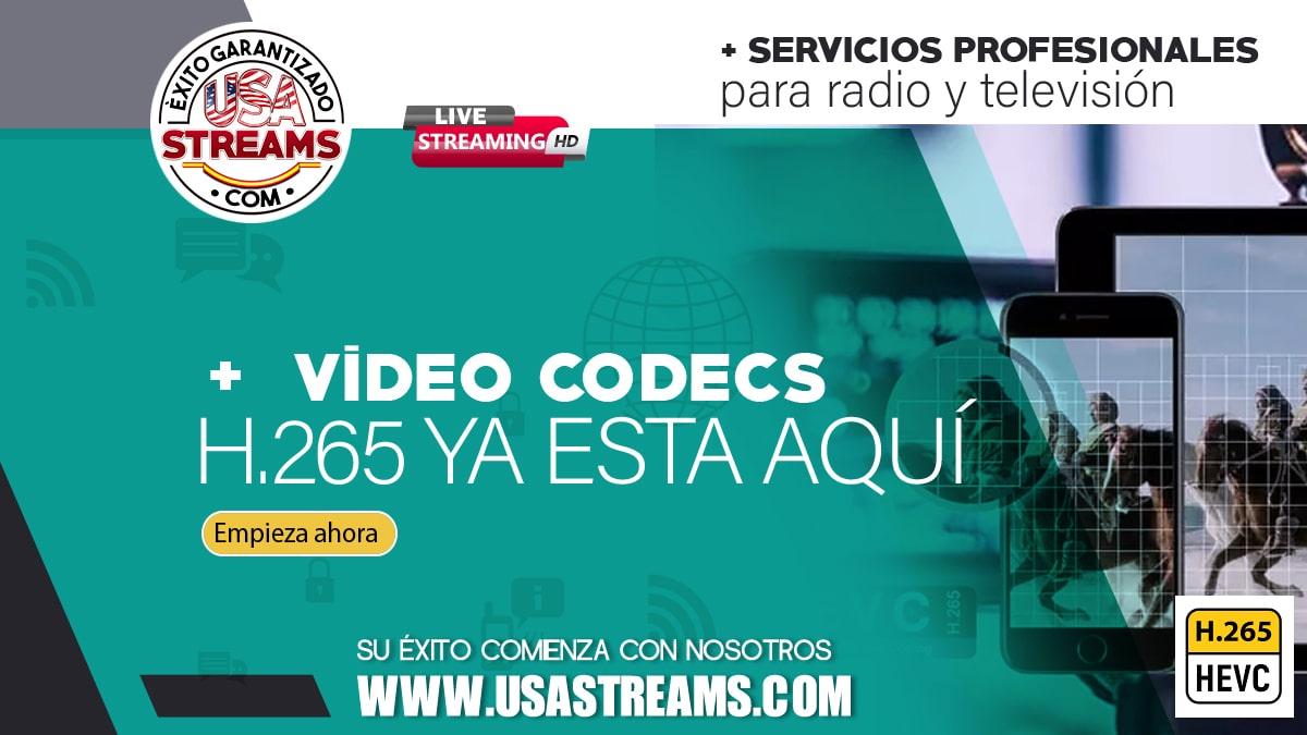 Video Codecs: H.265 ya esta aquí