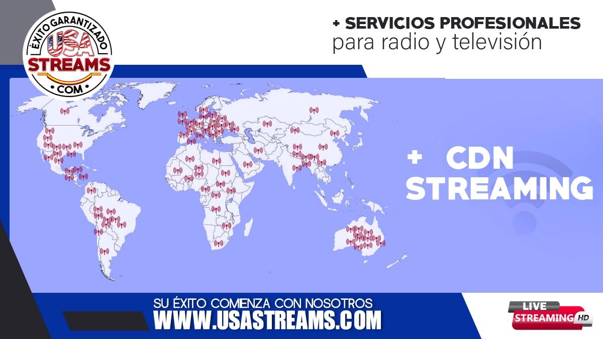 CDN streaming: qué es y cómo funciona