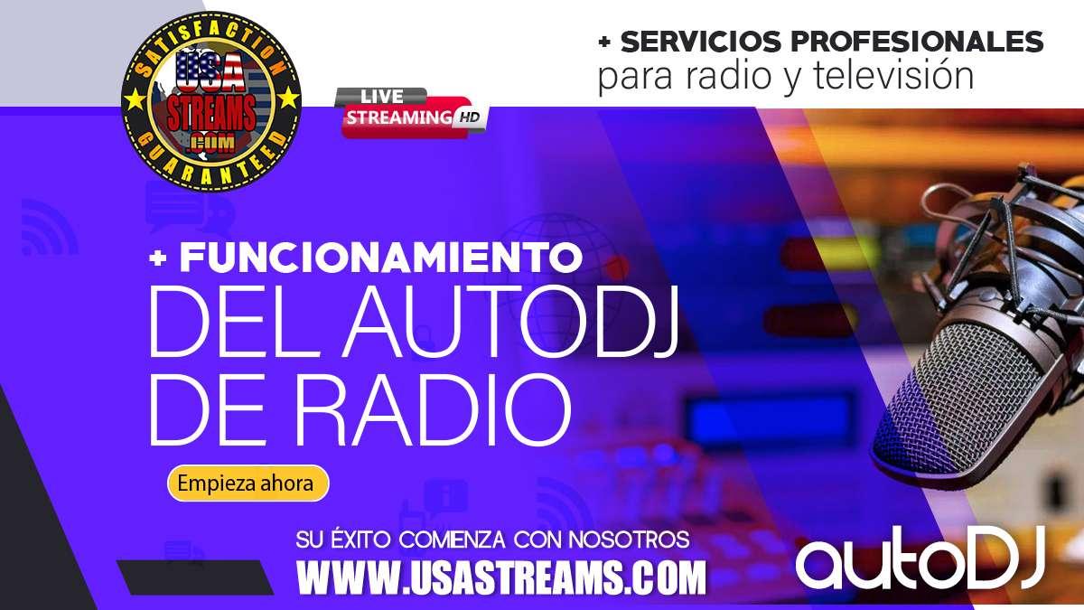 funcionamiento del autodj de radio