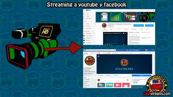 Como hacer streaming en directo de eventos en youtube.