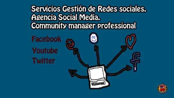 Servicios Gestión de Redes sociales, Agencia Social Media, community manager professional.