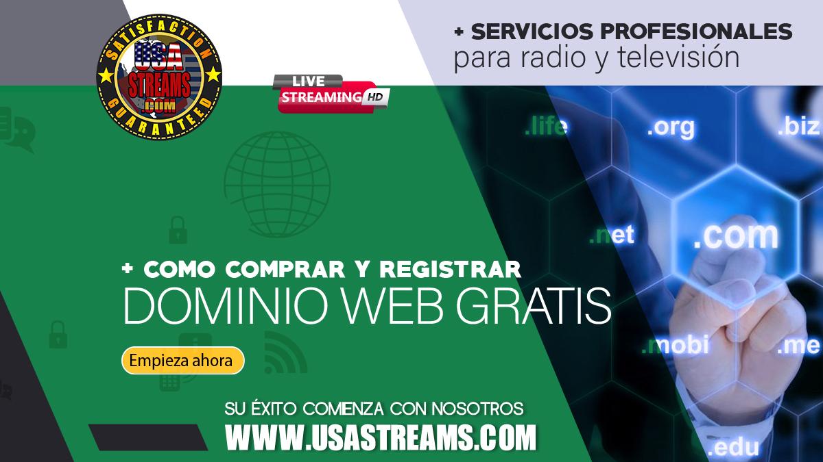 Cómo comprar y registrar dominio web de oferta o gratis