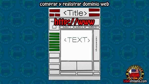 como comprar y registrar dominio web de oferta o gratis.