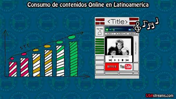 El consumo de contenidos online legales via streaming se incrementa
