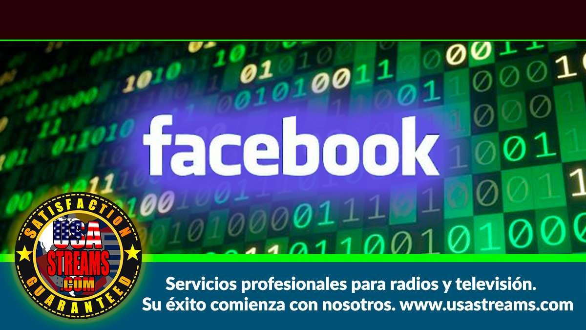 cómo transmitir a Facebook en formato rtmps