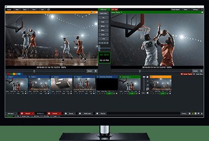 configuración de vmix para transmitir streaming televisión en vivo