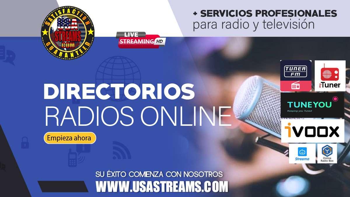 Directorios y web: Dónde dar de alta tu streaming radio online