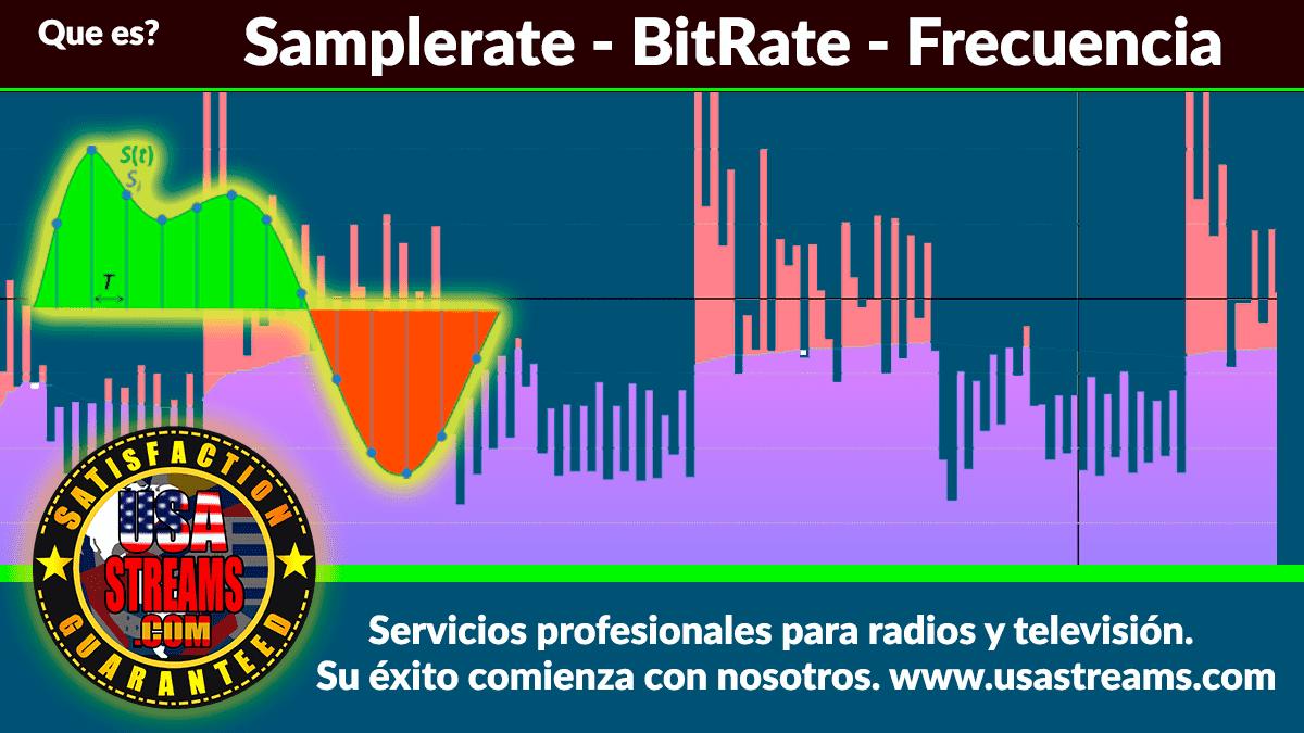 Aclarando términos que es Bitrate, SampleRate, mono, estéreo, CBR, decibelio