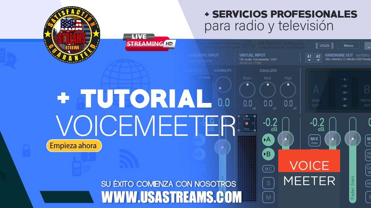 tutorial voicemeeter