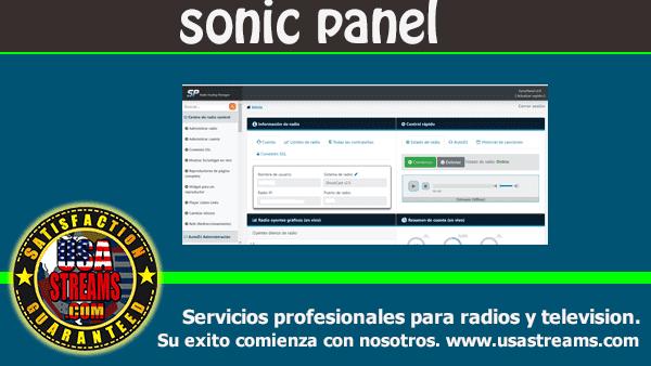 Nuevo Panel SonicPanel