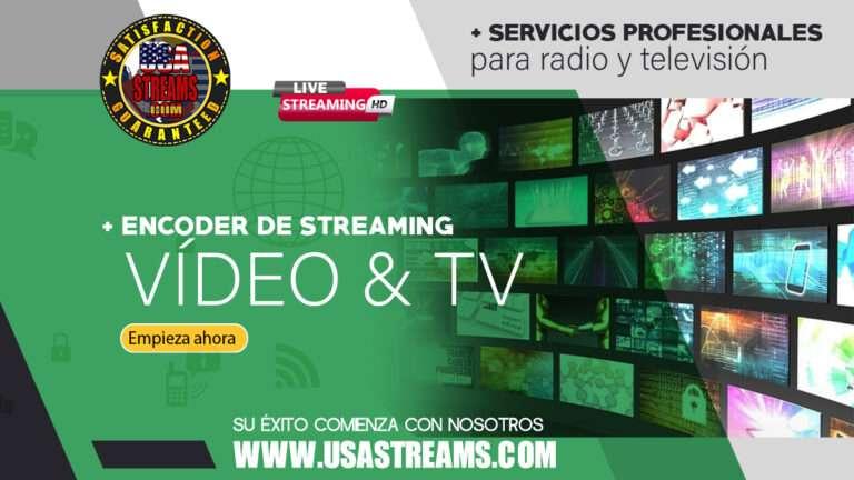 encoder de streaming video y tv