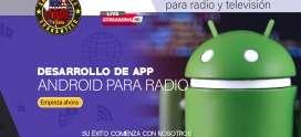 Desarrollo de app Andriod para radio