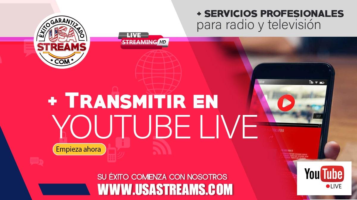 Cómo transmitir en vivo por YouTube Live: guía paso a paso