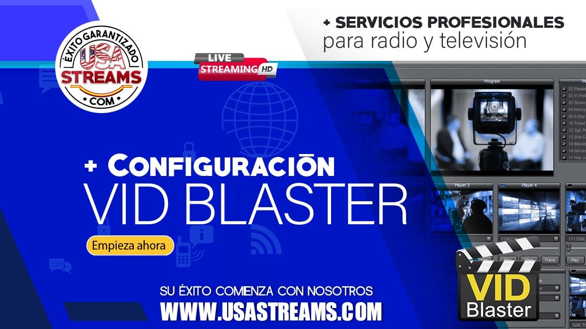 Configuración VidBlasterX: tutorial paso a paso para transmitir online