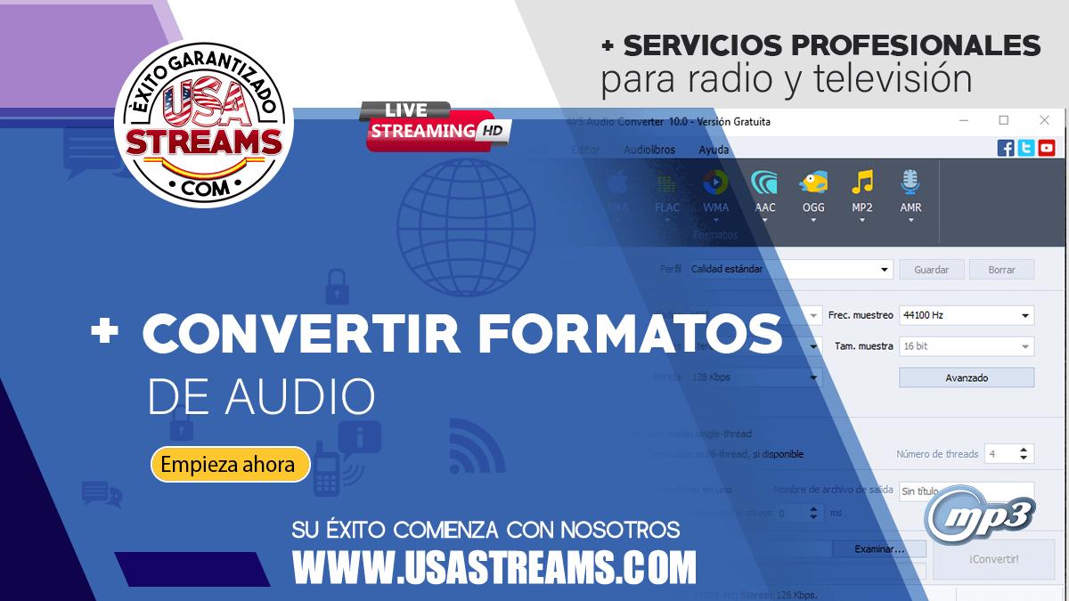 Cómo convertir archivos de audio en diferentes formatos con AVS Audio Converter