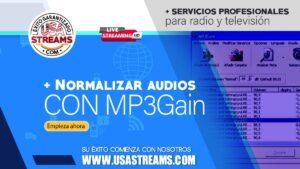 Cómo normalizar el volumen de tus archivos de audio gratis con MP3 Gain