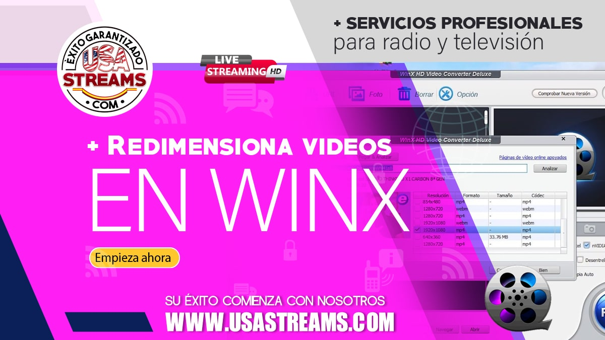 Cómo convertir y redimensionar videos en hasta 4K con WinX Video Converter