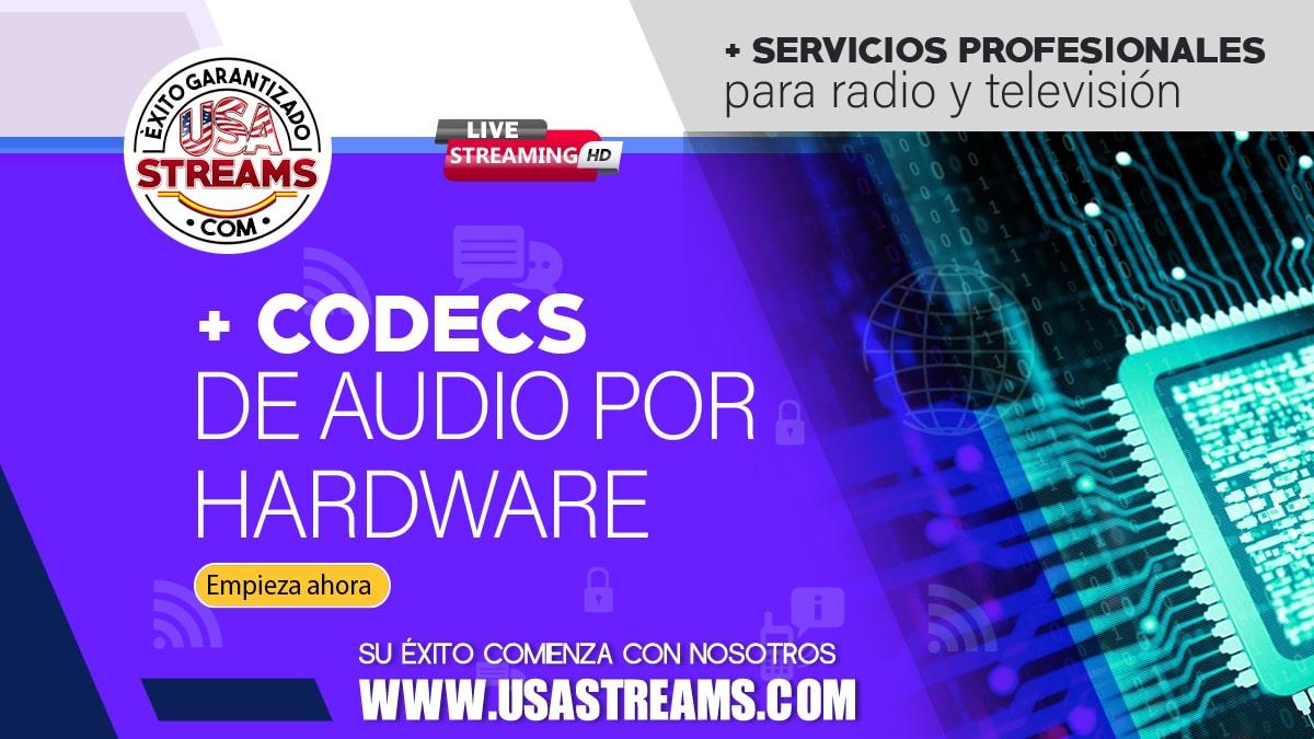 Qué son y como funcionan los codecs de audio por hardware