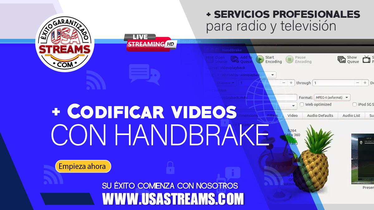 Cómo codificar vídeos con Handbreak: tutorial paso a paso