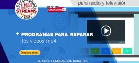 Programas para reparar los videos corrompidos mp4